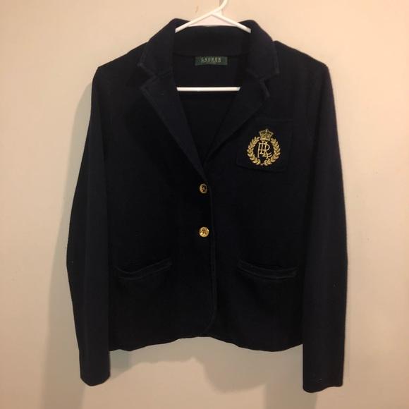 Lauren Ralph Lauren Jackets & Blazers - Lauren Ralph Lauren Crest Cotton Blazer petite M